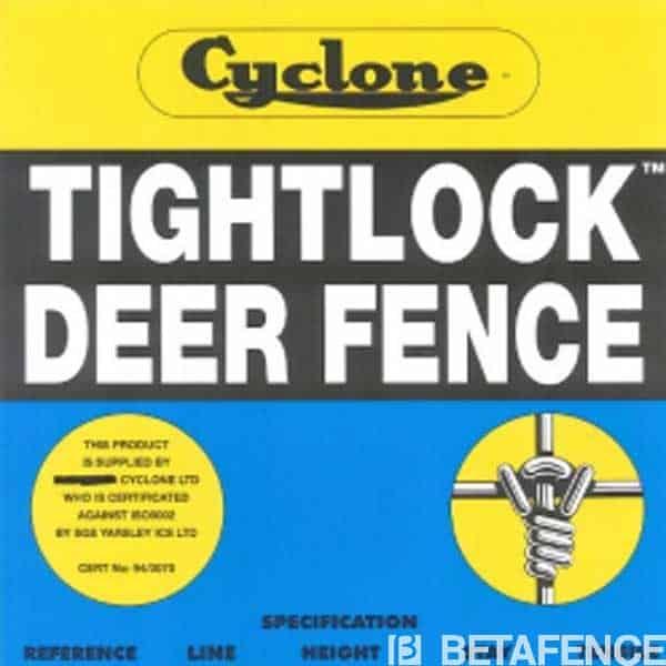 La clôture pour chasse Ursus Tightknot Cyclone est très robuste. Destinée à la protection des élevages, des forêts et terrains de chasse, elle est dotée de spécifications qui la rendent unique : un noeud non coulissant pour la rigidité, un crantage à chaque maille pour l'absorbsion des chocs, et un revêtement Trigalv pour une longue durée de vie. Choisissez notre clôture pour chasse, Cyclone.