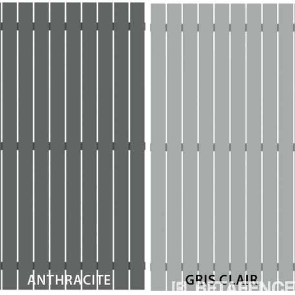 Les panneaux de clôture HoriZen Squadra sont fabriqués à partir de profils aluminium. Ils sont résistants, imputrécibles, facile à poser, et s'adaptent à tous les styles. Disponibles en deux coloris et deux hauteurs. Directcloture vous propose cette clôture livrée chez vous, avec un délai de 6 semaines.HoriZenSquadra est garanti 10 ans par Betafence