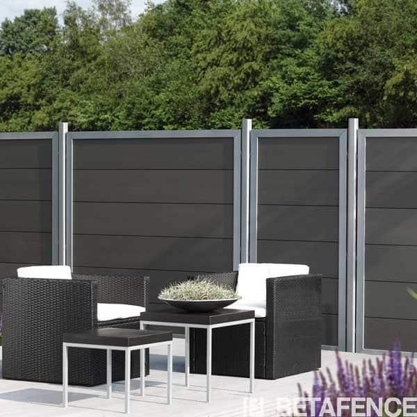 Cl ture composite horizen design directclotures for Cloture exterieur design