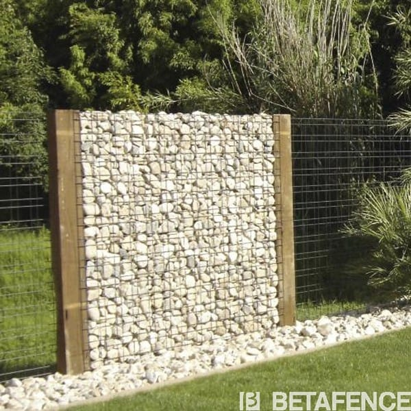 Mur occultant zenturo for Separation jardin en bois