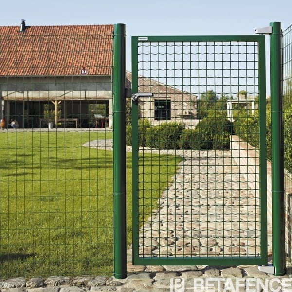 Portillon grillag pour le jardin fortinet directclotures for Portillon grillage rigide