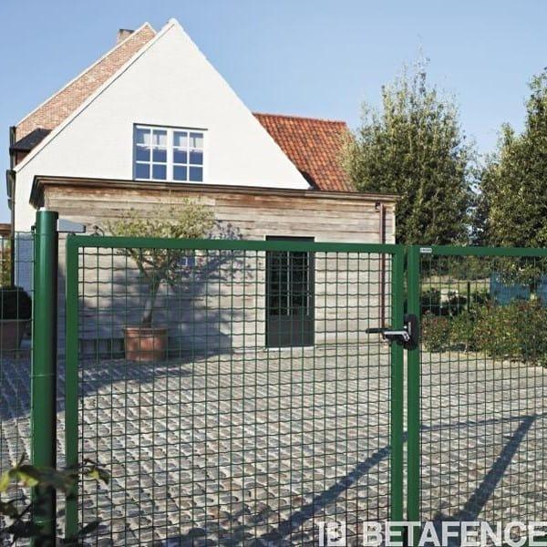 Portillon de jardin grillage nouveaux mod les de maison for Portillon maison