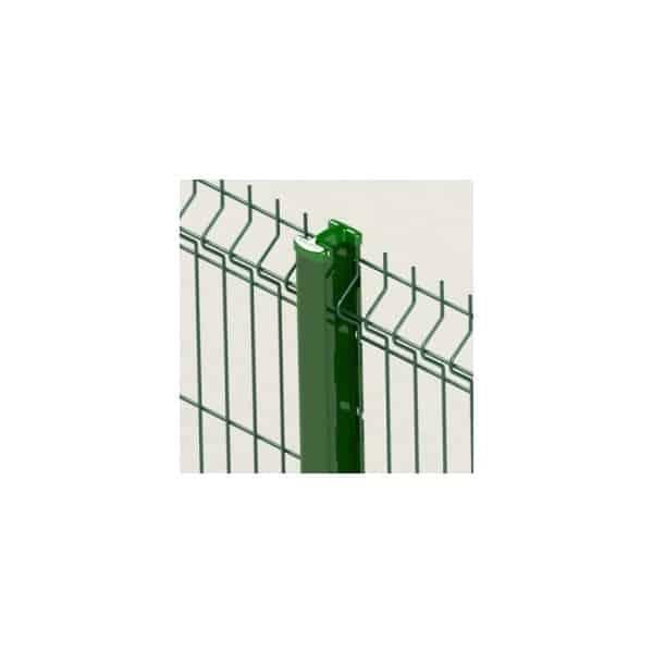 Le poteau sans accessoireQuixolid Plus permet la pose de votre clôture sans fixation, ni outil de pose, grâce à des encoches étudiées dans la feuillure du poteau. Il est compatible avec différents types de panneaux de clôture rigide, pour une installation facile et rapide. Disponible en quatre coloris RAL : vert, blanc, gris anthracite et noir.