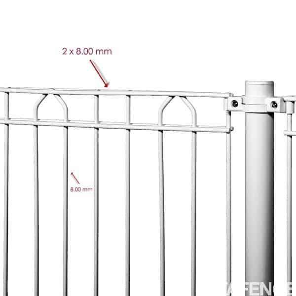 Le panneau Bekazur 2D vous permet de construire une clôture rigide, concue pour la protection de votre piscine et conforme aux normes de sécurité, et certifié par le Laboratoir National d'Essais français. Élégant et facile à monter, disponible en coloris Blanc RAL 9010.
