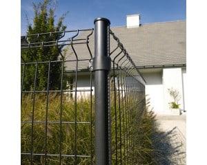 Poteau Bekaclip pour clôtures en panneaux