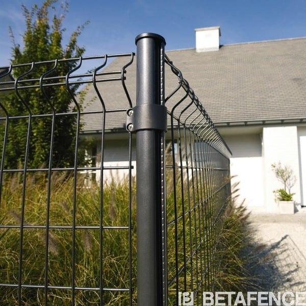 bekaclip poteaux acier pour panneaux rigides. Black Bedroom Furniture Sets. Home Design Ideas