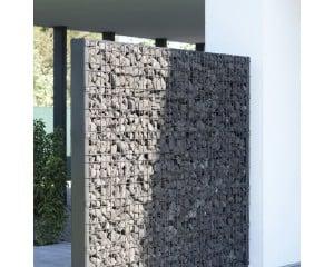 Mur occultant avec gabions Zenturo