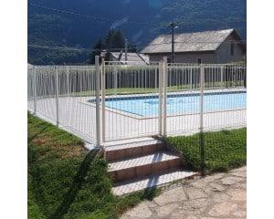Portillon pour clôture piscine render