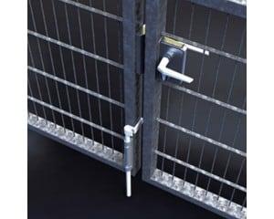 Boite d\'accessoires pour portail