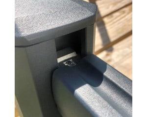 Connecteurs pour lisse haute