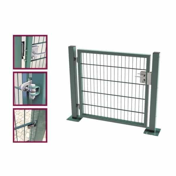 Modèle Robusta/Nylofor : Boite d'accessoires portail et portillon
