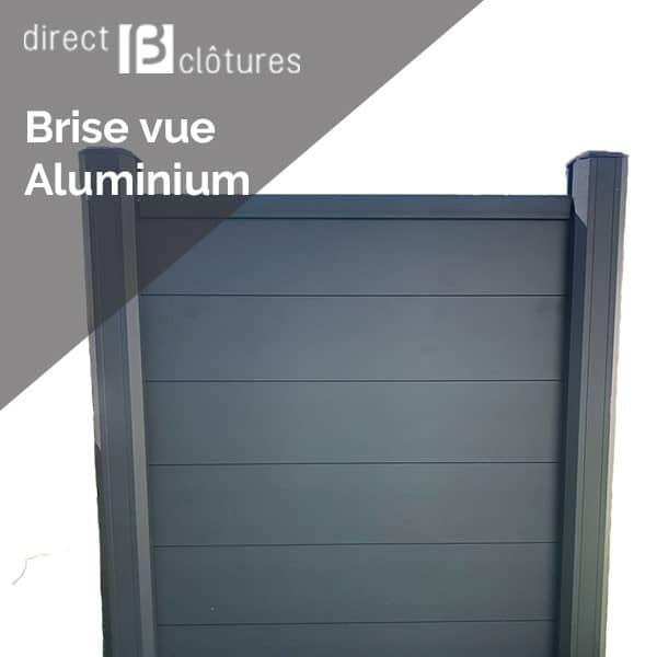 Panneau de clôture en aluminium SilvaPlein