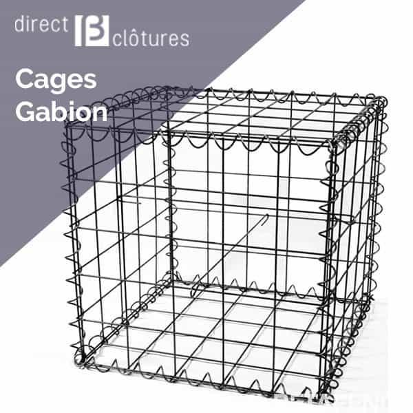 Cages de gabions