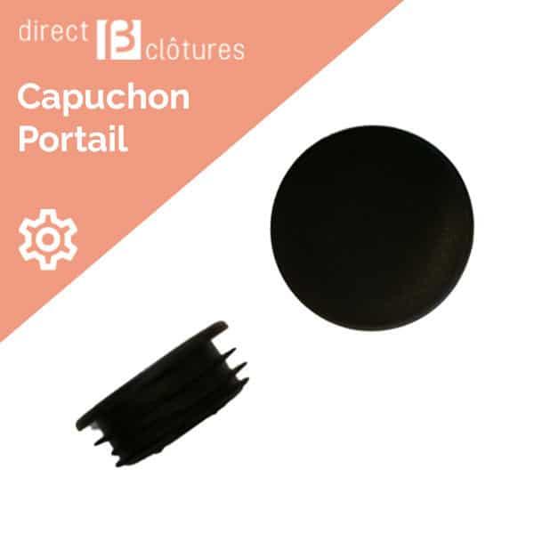 Modèle BFZ : Capuchon rond pour poteaux de portail