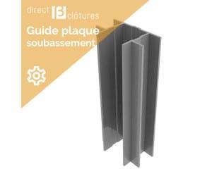 Guide plaque béton Decofor
