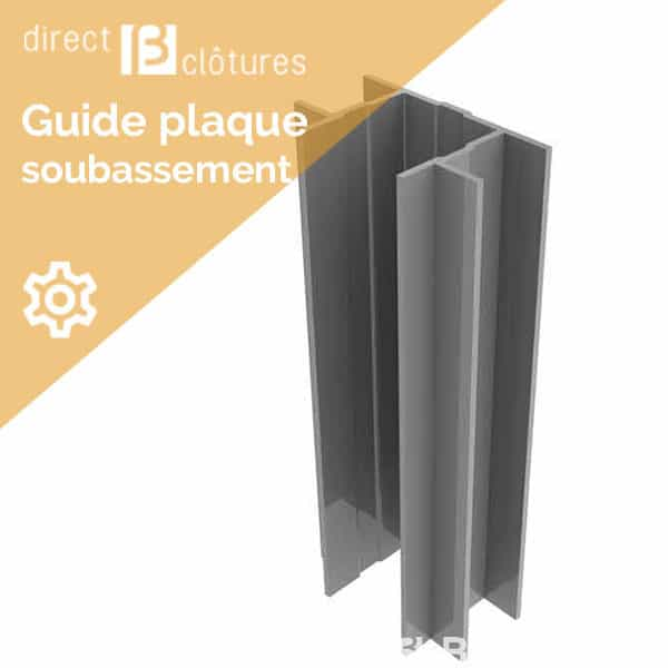 Guide plaque Decofor