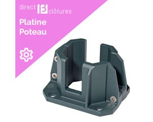 Platine double coque SilvAlu