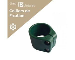 Colliers pour poteaux Bekafor vert