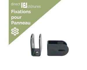 Fixations d'angles CreaZen coloris anthracite