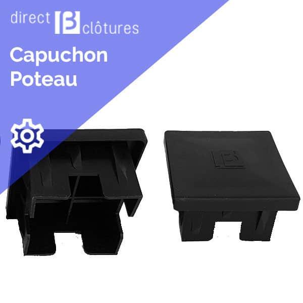 Capuchon carré pour poteau Nylofor