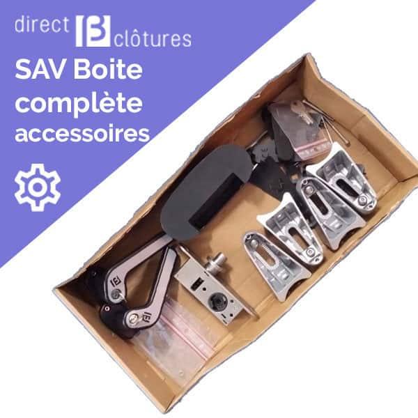 Modèle BFZ : Boites accessoires portillon et portails