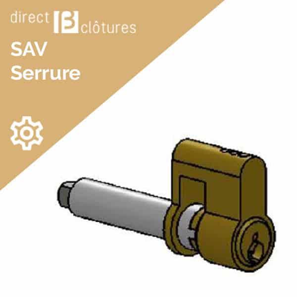 Modèle BFZ : Cylindre pour portail