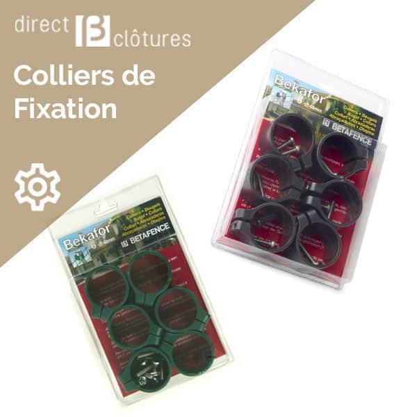Colliers de fixation Bekafor 48 mm
