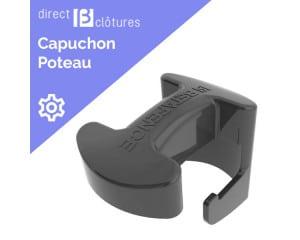 Capuchon pour poteau Bekafix noir