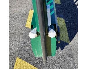 Portail Autoportant - Roue support avant vantail