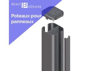 Poteau aluminium HoriZen Prime
