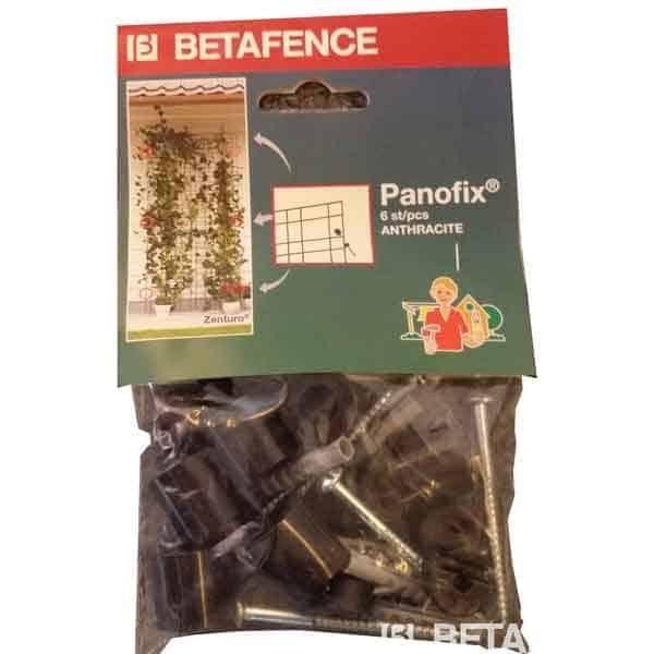 Offrez un treillage rigide à vos glycines et autres plantes grimpantes. Elles ont besoin d'un support mural solide pour s'épanouir en toute liberté. Les panneaux Zenturo Classic combinés avec la fixation Panofix vous permettent de créer un véritable tableau végétal. Enfin un treillage rigide qui durera aussi longtemps que vos plantes.