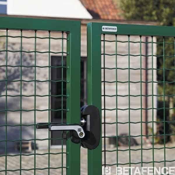 Emejing grillage et portillon de jardin ideas design for Portail coulissant hauteur 1m20