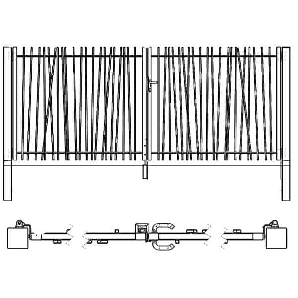Craquez pour le design très nature de la gamme CréaZen. Ce portillon saura compléter votre clôture barreaudé design, ou tout autres clôtures.Fabriqués en europe, nos portillons sont galvanisés, plastifiés avec des accessoires fournis en acier inoxydable.Consultez notre manuel de pose et les spécifications de la gamme : ICI