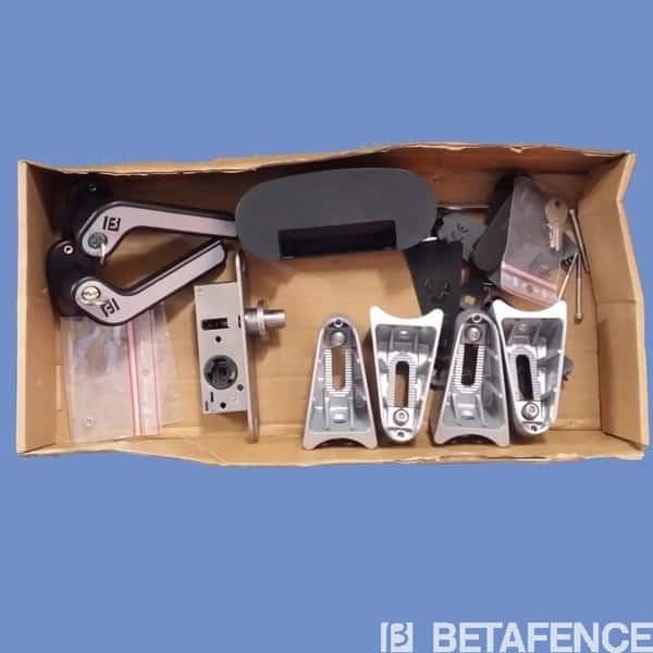 Boite d'accessoires portail BFZ - Poteaux ronds
