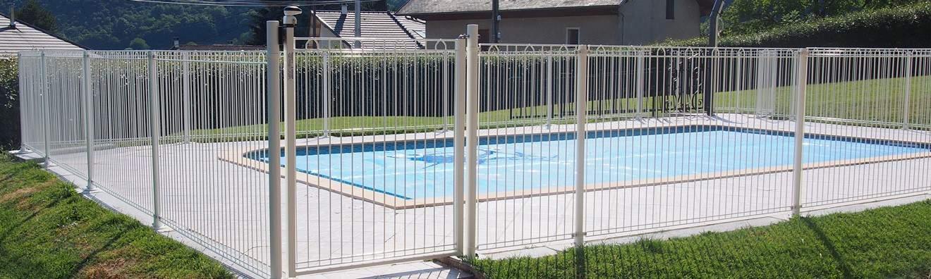 Clôtures pour piscine et barrières de sécurité