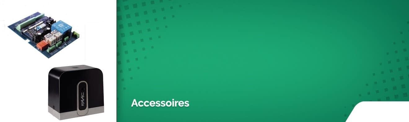 Accessoires pour portails motorisés
