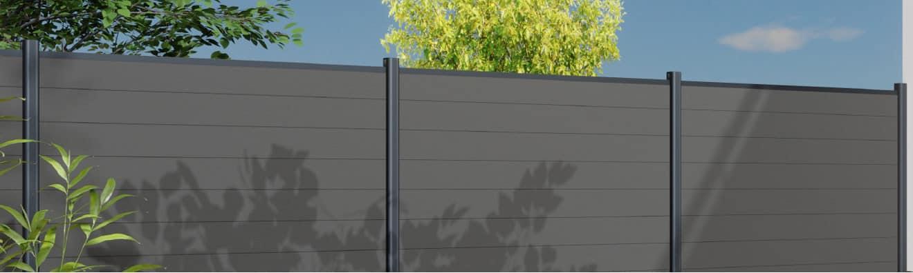 Poteaux en Aluminium pour clôtures