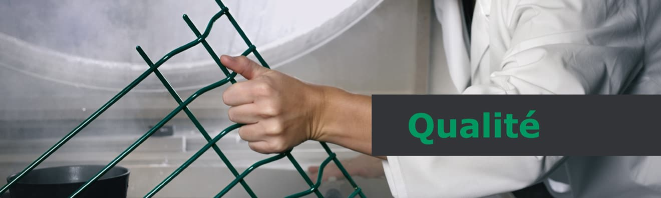 Qualité des clôtures et portails