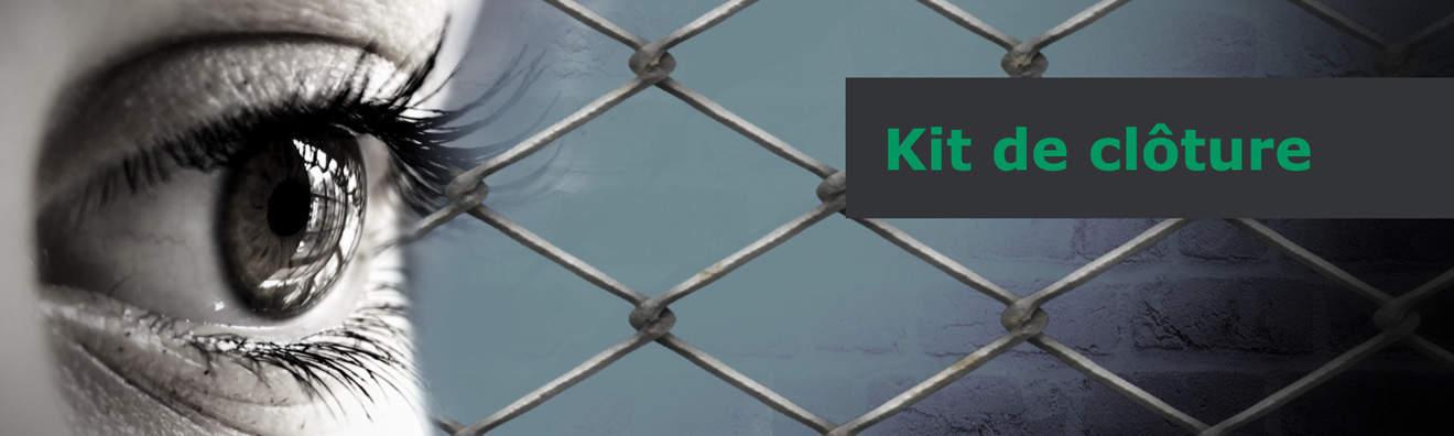 kits clôture en panneaux