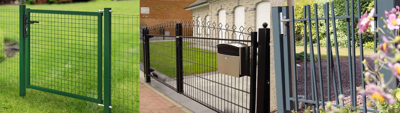portails et portillons de jardin