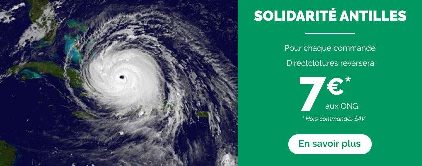 Votre don suite au passage de Irma