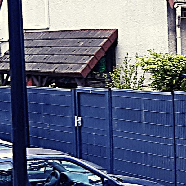 Pose d'occultation sur portillon
