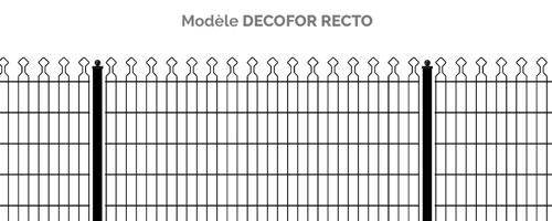 Modèle panneau Decofor Recto