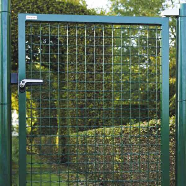 Manuels de pose pour clotures betafence r sidentielles for Cloture jardin avec portillon