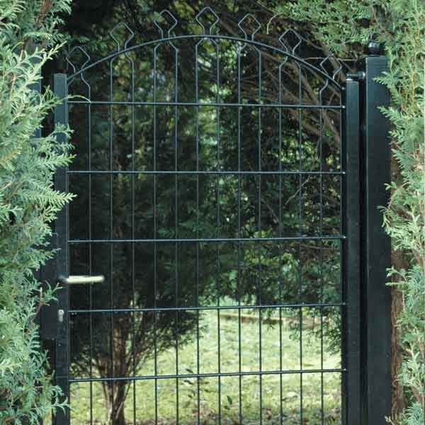 Portail et portillon de jardin directcl tures for Portillon de jardin blanc