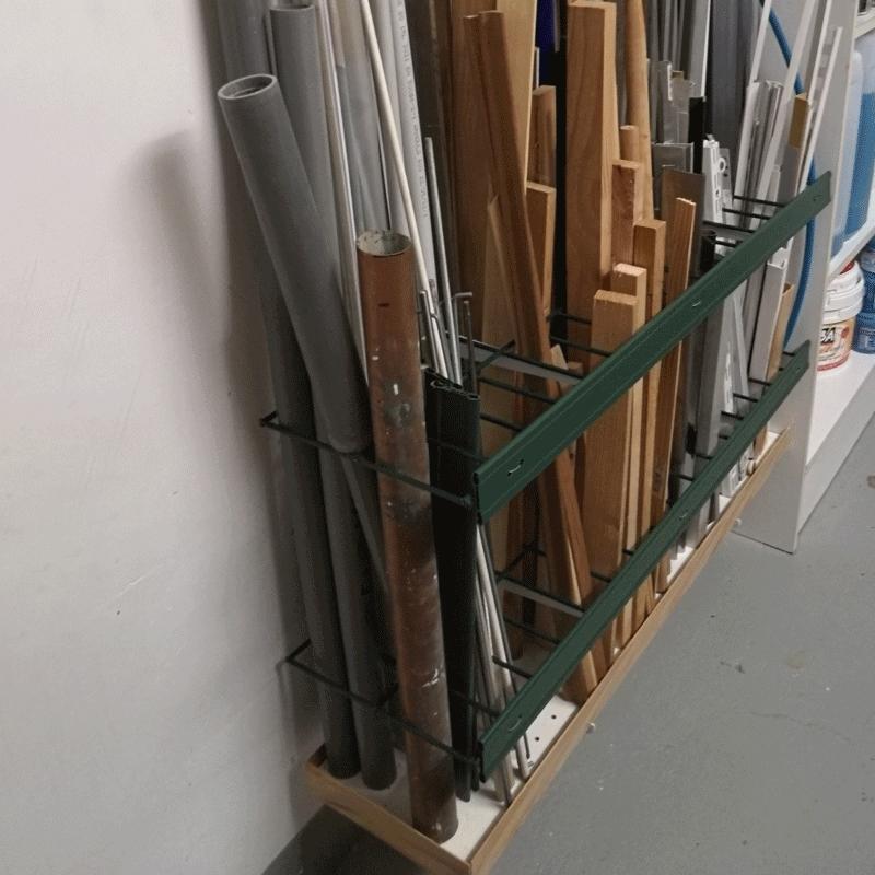 Rangement pour matériaux