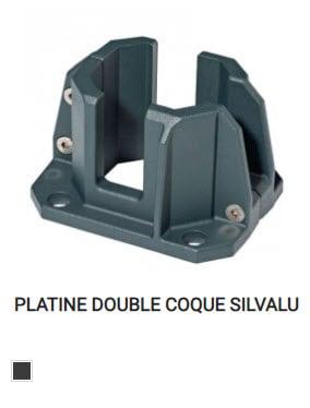 Platine double coque