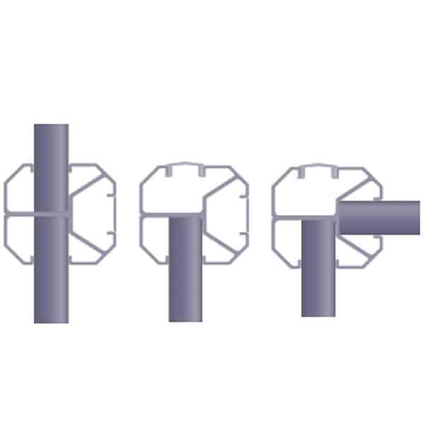 configurations poteau 3en1 Silvalu