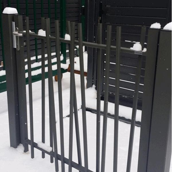 Portail et portillon de jardin directcl tures for Portillon de jardin aluminium