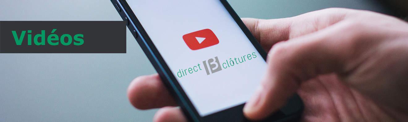 Vidéos de pose directclotures